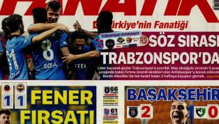 Fenerbahçe'nin Gençlerbirliği deplasmanındaki 1-1'lik beraberliği gazetelerde ağırlıklı olarak yer bulmuş durumda. Trabzonspor-Fraport TAV Antalyaspor ve...