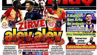 Spor Toto Süper Lig'in 30. hafta maçları öncesindeki gelişmeler gazetelerde ağırlıklı olarak yer buldu. Perşembe gününün öne çıkan haber başlıkları şu...