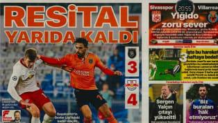 Süper Lig'in 11. haftasında oynanacak karşılaşmalar öncesinde kulüplerimizden haberler gazetelerde ağırlıklı olarak yer buldu. Perşembe gününün öne çıkan...