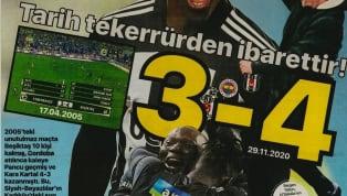 Beşiktaş'ın Fenerbahçe deplasmanında elde ettiği 4-3'lük galibiyet gazetelerde ağırlıklı olarak yer buldu. Haftanın ilk gününde öne çıkan haber başlıkları şu...