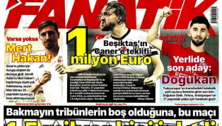 Koronavirüs salgını nedeniyle Süper Lig'e verilen arada kulüplerimizden haberler gazetelerde ağırlıklı olarak yer buldu. Haftanın ilk gününde öne çıkan haber...