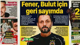 Koronavirüs salgını nedeniyle Süper Lig'e verilen arada kulüplerimizden haberler gazetelerde ağırlıklı olarak yer buldu. Cumartesi gününün öne çıkan haber...