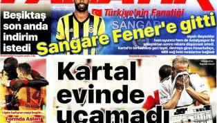 Beşiktaş'ın Fraport TAV Antalyaspor ile 1-1 berabere kaldığı karşılaşmaya ilişkin haberler gazetelerde ağırlıklı olarak yer buldu. Haftanın son gününde öne...