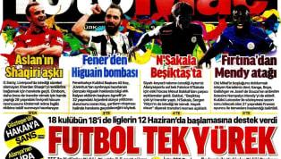 Koronavirüs salgını nedeniyle Süper Lig'e verilen arada kulüplerimizden gelişmeler gazetelerde ağırlıklı olarak yer buldu. Perşembe gününün öne çıkan haber...