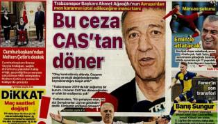 Koronavirüs salgını nedeniyle Süper Lig'e verilen arada kulüplerimizden haberler gazetelerde ağırlıklı olarak yer buldu. Cuma gününün öne çıkan haber...
