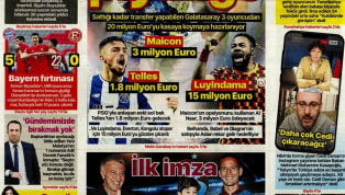 Koronavirüs salgını nedeniyle Süper Lig'e verilen arada kulüplerimizden haberler gazetelerde ağırlıklı olarak yer buldu. Haftanın son gününde öne çıkan haber...