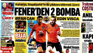 Koronavirüs salgını nedeniyle Süper Lig'e verilen arada kulüplerimizden haberler gazetelerde ağırlıklı olarak yer buldu. Perşembe gününün öne çıkan haber...