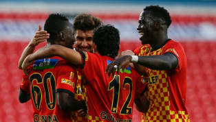 Süper Lig'in 9. hafta randevusundaiç sahadaAnkaragücü'nü Göztepe3-1 mağlup etti. Ev sahibi ekibe galibiyeti getiren golleri; 10 ve 67. dakikada Cherif...