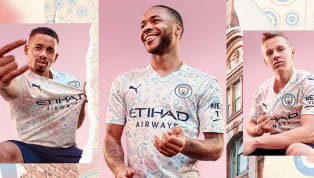hion Manchester City have launched their 2020/21 Puma third kit, which features a distinct paisley pattern and is inspired by Manchester's cultural heritage of...