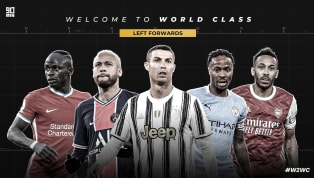 It's here, 90min's ranked top five left forwards in the world. The 'Welcome to World Class' series is built on the premise that to be considered 'world class'...