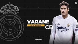 Raphael Varane finished seventh in the final Ballon d'Or standings in 2018. Mohamed Salah, Lionel Messi, Kylian Mbape, Antoine Griezmann, Cristiano Ronaldo...