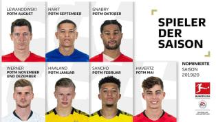 Mới đây, Ban tổ chức Bundesliga đã mở cuộc bình chọn Cầu thủ xuất sắc nhất mùa giải 2019/20. Hãy cùng 90min điểm mặt 7 cái tên rất đáng chú ý. 7. Amine Harit...