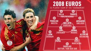 Hãy cùng 90min điểm lại những cái tên xuất sắc nhất VCK EURO 2008, đó là năm mà Tây Ban Nha lên ngôi vô địch sau khi đánh bại Đức trong trận Chung kết bằng...