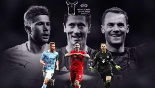 """UEFA vừa chính thức công bố danh sách rút gọn cho danh hiệu """"Cầu thủ hay nhất năm"""" và 3 cái tên cuối cùng là những cá nhân cực kỳ xuất sắc trong năm vừa rồi...."""