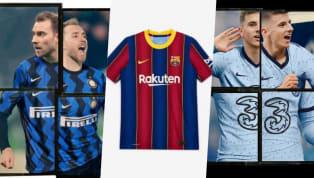 Mùa bóng mới 2020/21 còn chưa bắt đầu, nhưng các CLB hàng đầu châu Âu đã lần lượt tung ra các áo đấu mới của mình. Cùng điểm qua những chiếc áo đấu đẹp nhất...
