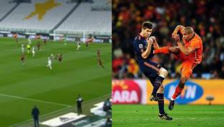Cú kung-fu của De Jong vào ngực Xabi Alonso đã được sao Milan Ante Rebic tái hiện rạng sáng nay 13/6 ở bán kết lượt về Coppa Italia. Sân cỏ nước Ý được hâm...