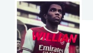 Willian's proposed move from Chelsea to Arsenal may have accidentally been confirmed, after the Brazilian was pictured in a Gunners kit in a leaked clip from...