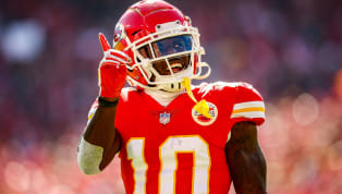 ​If there was ever a time to draw the line, this is the time to do so. Once the NFL does, they should build a wall on top of it and make sure Tyreek Hill...