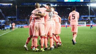 News ​Barcelona could lift their 26th La Liga title on Saturday before they even kick a ball as they take on Levante at the Camp Nou. If Atletico lose at home...
