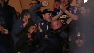 Diego Maradona Appeared to Throw a Punch in Anger After His Team Dorados Lost Play-off Final