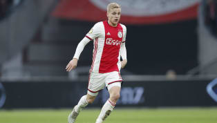 Ajax midfielder, Donny van de Beek has ruled out a move toManchester Unitedin the January transfer window, insisting that he will remain at Ajax until the...