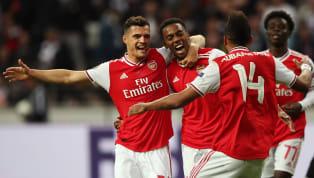 Arsenal mendapatkan kemenangan atas Eintracht Frankfurt dalam laga pembuka Grup F Europa League 2019/20 di Commerzbank-Arena pada Kamis (19/9) dengan skor...