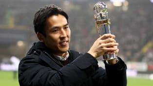 Je älter er wird, desto besser spielt er: Makoto Hasebe von Eintracht Frankfurt ist nach Ansicht des Fachmagazins kicker der derzeit beste Innenverteidiger...