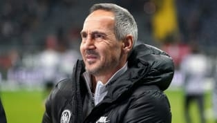 """Adi Hütter erwartet """"ein interessantes Spiel"""", wenn seineFrankfurter Eintrachtam Freitagabend aufBorussia Dortmundtrifft. Gegen den BVB will die SGE..."""