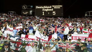 ​1 September 2001. Perhaps depressingly, there are DVDs and films about this World Cup QUALIFIER. England travelled to Munich to face a Germany side boasting...