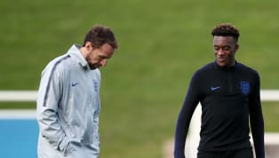 England boss Gareth Southgate is set to hand Chelsea winger Callum Hudson-Odoi his first start in a Three Lions shirt against Montenegro after impressing in...