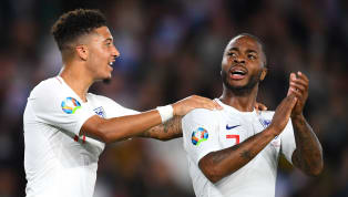 ​Raheem Sterling has expressed his delight at being able to assist youngster Jadon Sancho to score his first international goals on Tuesday night as England...