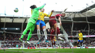 nues England's disappointing post-World Cup form continued, as they were beaten 2-1by Brazil at the Riverside Stadium. England dominated the first half but...
