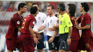 ​Former Manchester United captain Wayne Rooney has described his red card he got during the 2006 World Cup, when then-clubmate Cristiano Ronaldo urged the...