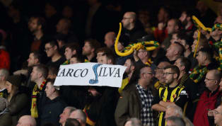 Hiss-terical Watford Fans Taunt Former Manager Marco Silva During Game Against Everton - With SNAKES