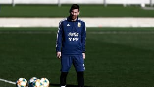 """Argentina's technical director, Cesar Luis Menotti believes that star player Lionel Messi is struck by the """"emotional fatigue"""" of playing for both..."""