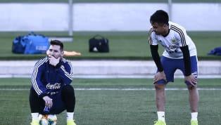 Lo confirmó el entrenador Lionel Scaloni:Lionel Messiy Gonzalo Martínez formarán parte de la delantera titular en el partido amistoso de laSelección...