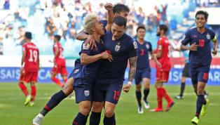  การแข่งขันฟุตบอล เอเอฟซีเอเชียน คัพ 2019 กลุ่มเอ นัดที่สอง ทีมชาติบาห์เรน 0-1 ทีมชาติไทย อัล มัคตูม สเตเดี้ยม ทีมชาติไทยยังคงอยู่ในเส้นทาง เอเชียน คัพ...