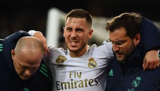 "​Real Madrid boss Zinedine Zidane has dismissed fears that Eden Hazard will require surgery on his damaged right ankle, stating that the ""injury is under..."