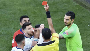 Argentina's Lionel Messi has bizarrely suggested that corruption was at play in a furious rant following his sending off against Chile in the Copa America...