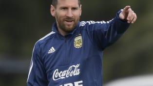 """Lionel Messitente de se remettre de la fin de saison cauchemar duFC Barcelone... De retour avec l'Albiceleste, """"El Capitan Leo"""" cherchera à remporter son..."""