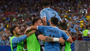 ated Uruguay beat Chile 1-0 to secure top spot in Group C and set up a favourable quarter-final tie with Peru​.  Chile's defeat, on the other hand, means they...