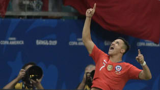​Alexis Sanchez was on target for the second game in a row as Chile booked their Copa America quarter-final spot with a 2-1 win over Ecuador on Friday. The...