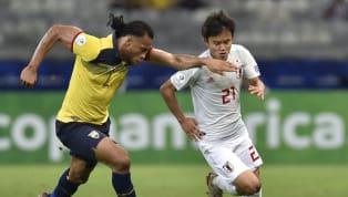 Kubo Takefusa Kubo là cầu thủ thi đấu nổi bật nhất trong trận cầu giữa tuyển Ecuador và tuyển Nhật Bảng trong trận cầu cuối cùng của vòng bảng C Copa America...