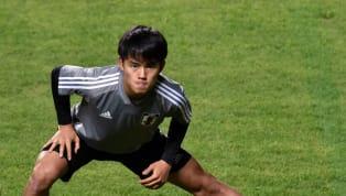 Penyerang sayap berusia 18 tahun, Takefusa Kubo, menikmati momen pertamanya berlatih dengan skuat Real Madrid di sesi latihan pramusim yang berlangsung di...