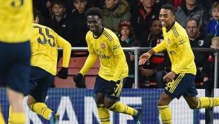Sao trẻ Arsenal Bukayo Saka là người mở tỉ số cho trận đấu vòng 4 FA Cup đụng độ Bournemouth ngay phút thứ 5. Cầu thủ mới 18 tuổi của Arsenal có cú ra chân...