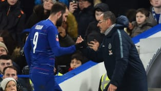 ​Chelsea boss Maurizio Sarri has insisted that his 'footballing son' Gonzalo Higuain is the ideal focal point for Sarriball take effect at Stamford Bridge....
