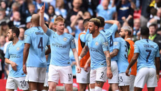 eble Manchester City completed the first ever domestic treble in the men's game, as they beat Watford 6-0 at Wembley to win their sixth FA Cup on Saturday...