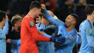VIDEO: Adu Penalti Loloskan The Citizens ke Semifinal, Leicester City 1-1 Man City - League Cup