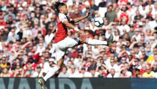 Phút 77, nỗ lực solo của Pierre-Emerick Aubameyang đã mang về bàn rút ngắn tỉ số xuống 2-3 cho Arsenal trong trận đấu với Crystal Palace.