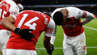 Pierre-Emerick Aubameyang has revealed what Alexandre Lacazette told him before he stepped up to ​take his penalty against Manchester United on Sunday. ...